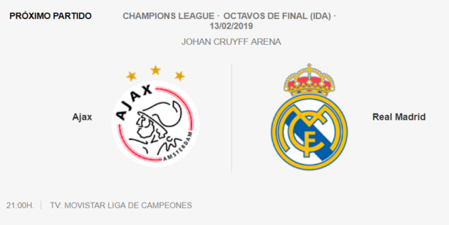 AJAX - REAL MADRID 0-611