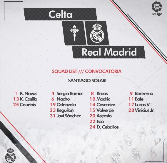 Celta - Real Madrid 0711