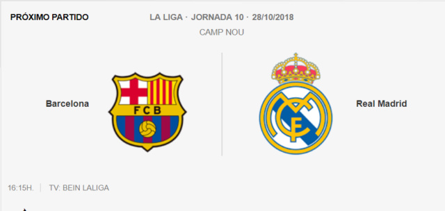 Barce1ona - R3al Madrid 1-310