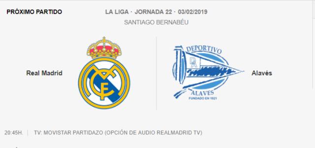 REAL MADRID - ALAVÉS 6-010