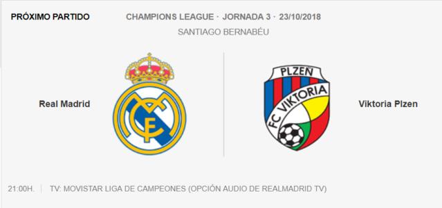 Real Madrid- Viktoria Pizen 712