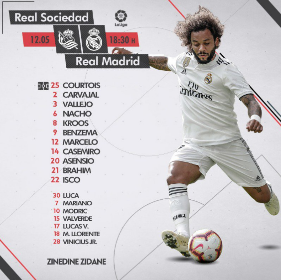 J. 37 Real Sociedad - Real Madrid Al11