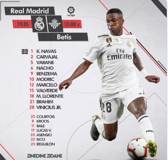 Real Madrid - Betis Al12