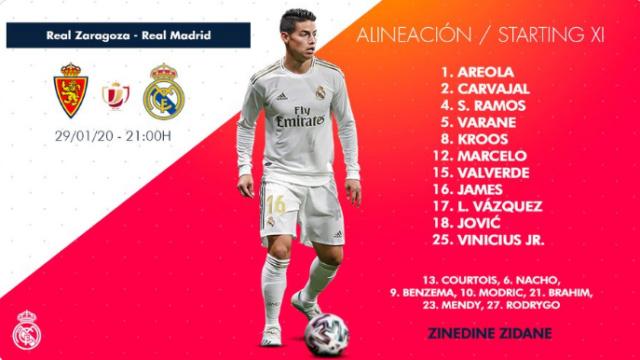 1/8 Copa SME Rey. Real Zaragoza - Real Madrid Al13
