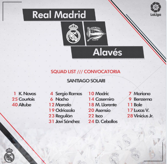 REAL MADRID - ALAVÉS Ali11