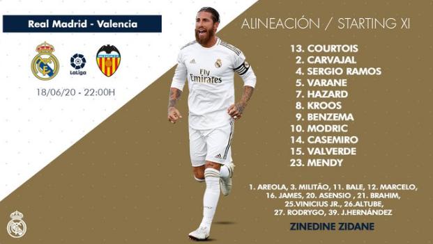 Real Madrid - Valencia Ali15