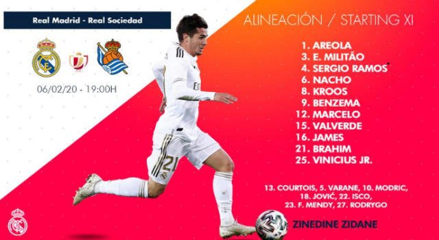 1/4 de Copa Real Madrid  vs Real Sociedad Alin16