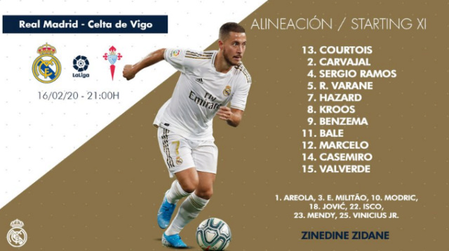 Real Madrid - Celta Alin17