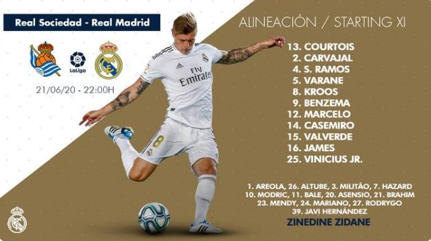 Real Sociedad - Real Madrid Alin18