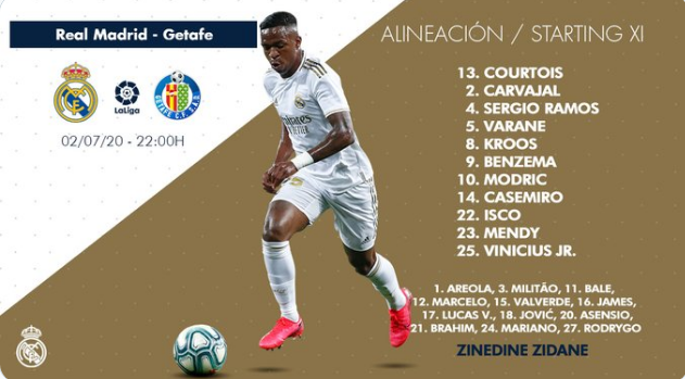 Real Madrid - Getafe Alin19