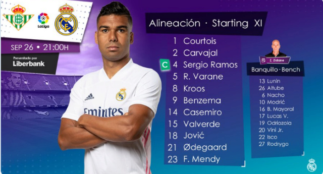 Betis - Real Madrid Alin21