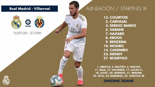 Real Madrid - Villarreal Aline11