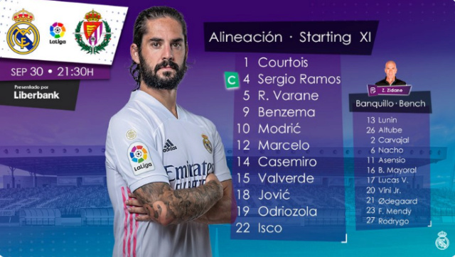 Real Madrid - Real Valladolid Aline13