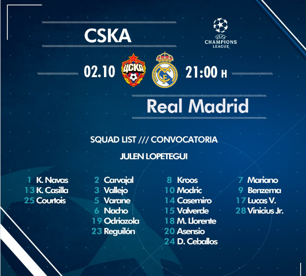 CsKA - Real Madrid Cha10