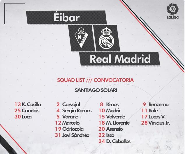 Eibar - Real Madrid Conv12