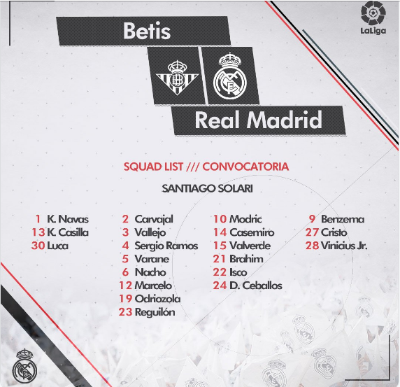 BETIS - REAL MADRID Conv14
