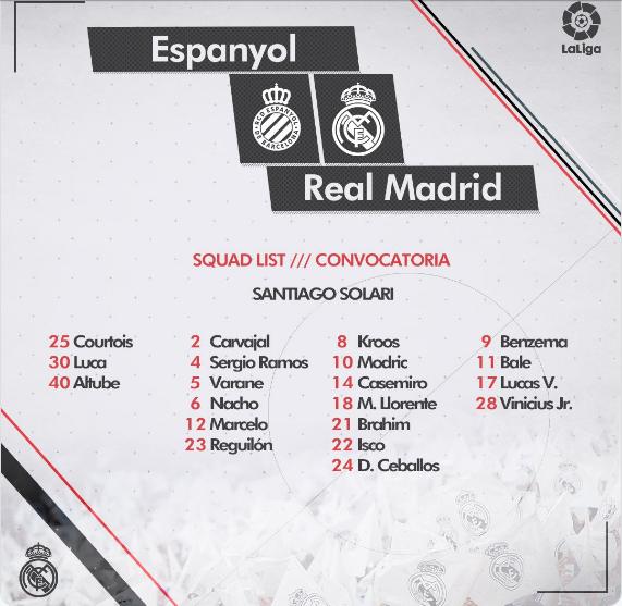 ESPANYOL - REAL MADRID Conv15