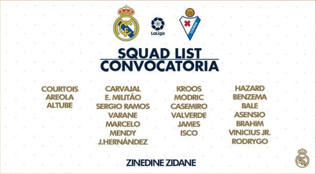 Real Madrid - Éibar Conv20
