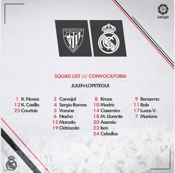 Athl. de Bilba0 - Real Madrid Convo10