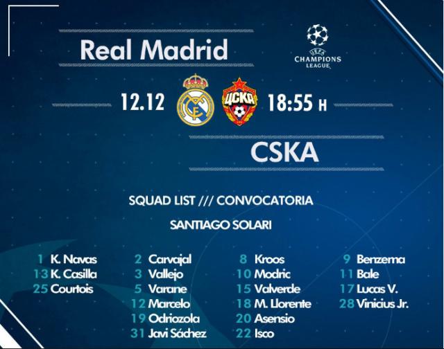 REAL MADRID - CSKA Cv10