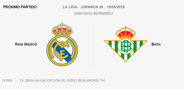 Real Madrid - Betis G12