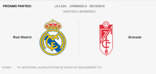 Real Madrid - Granada Jra10