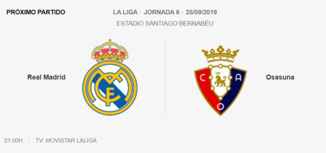 Real Madrid - Osasuna Ozazun10