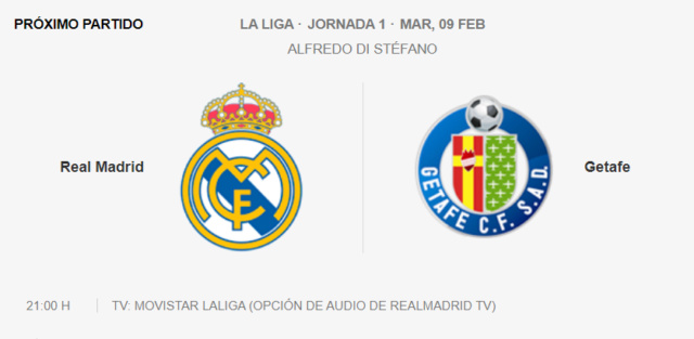 Real Madrid - Getafe P14