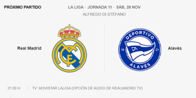 Real Madrid - Alavés Pa12