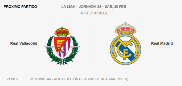 Valladolid - Real Madrid Pa14