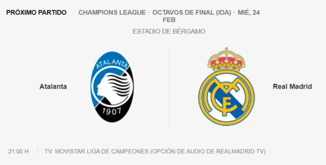 Atalanta - Real Madrid Pa15