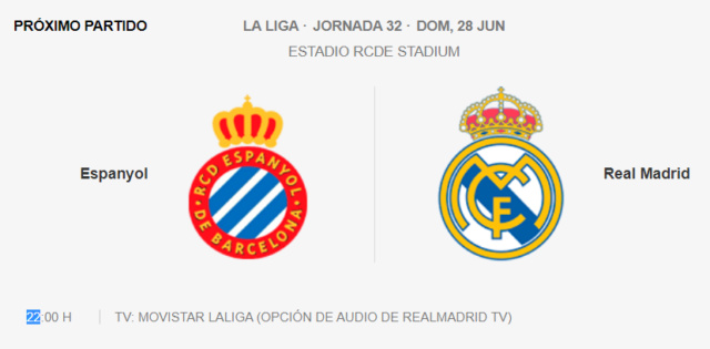 Espanyol - Real Madrid Par10