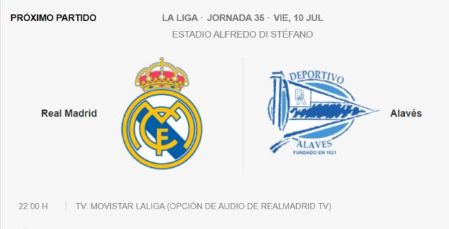 Real Madrid - Alavés Par11