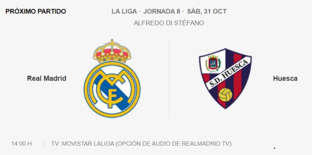 Real Madrid - Huesca Par12