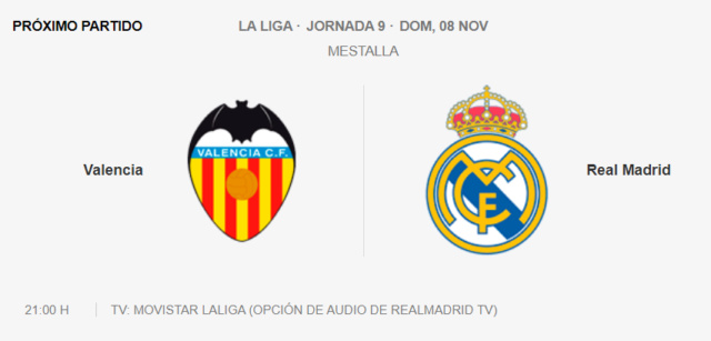 Valencia - Real Madrid Par13