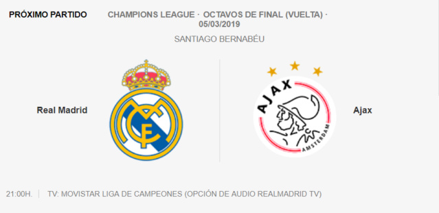REAL MADRID - AJAX Part14