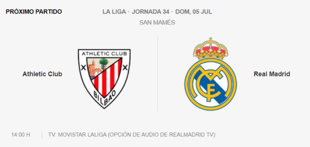 Athletic de Bilbao - Real Madrid Parti11