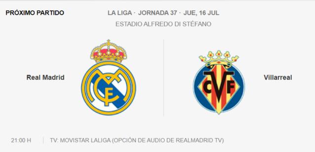 Real Madrid - Villarreal Parti12