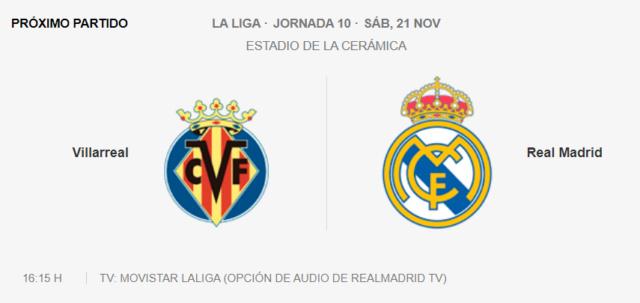 Villarreal - Real Madrid Parti14