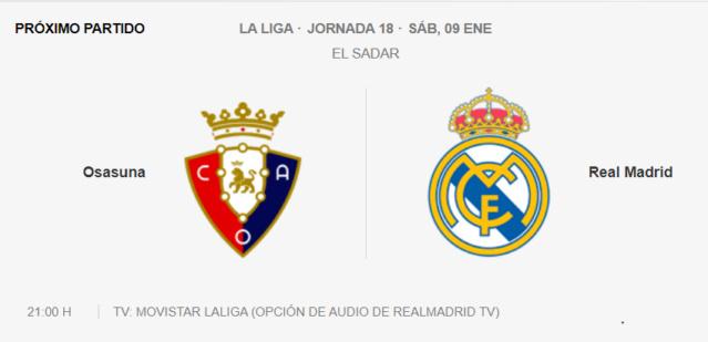 Osasuna-Real Madrid Parti19