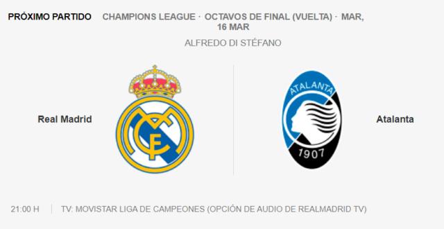 Real Madrid - Atalanta Parti21