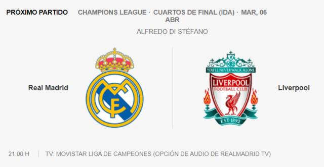 Real Madrid - Liverpool Parti23