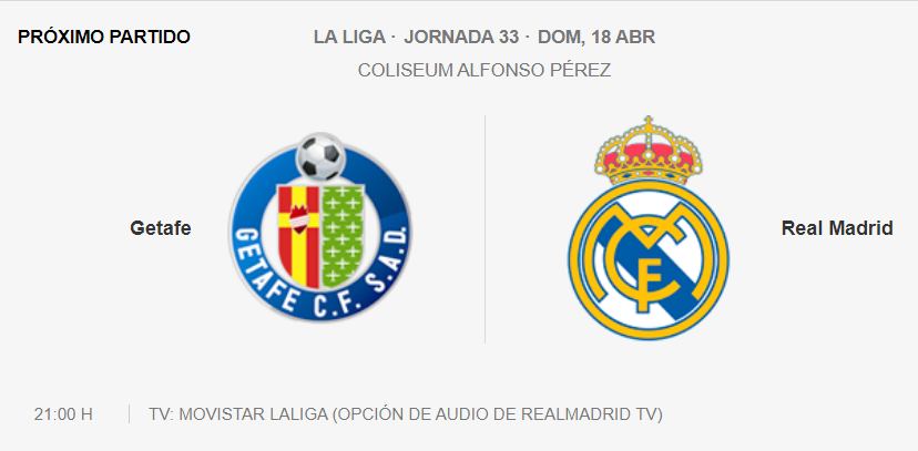 Getafe - Real Madrid Parti26