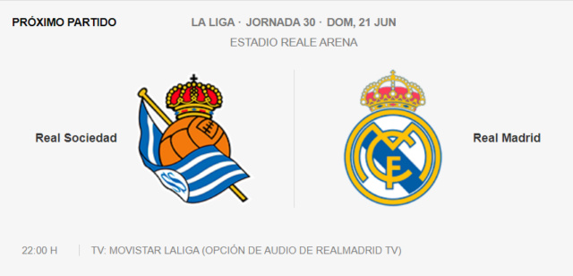 Real Sociedad - Real Madrid Partid10