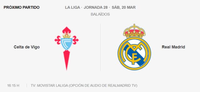 Celta - Real Madrid Partid15