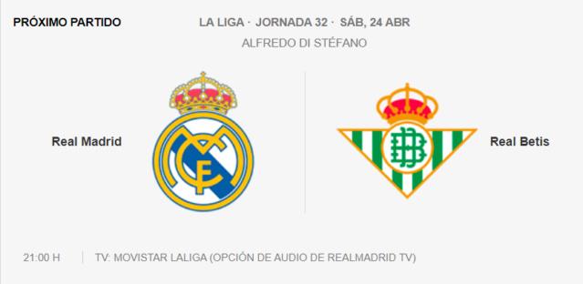 Real Madrid - Betis Partid17