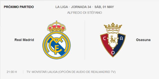Real Madrid - Osasuna Partid19