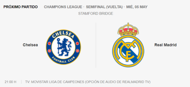Chelsea - Real Madrid Partid21