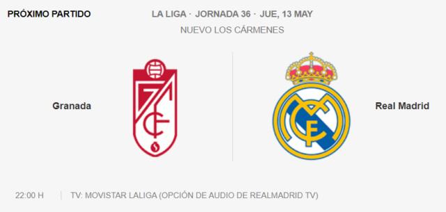 Granada - Real Madrid Partid22