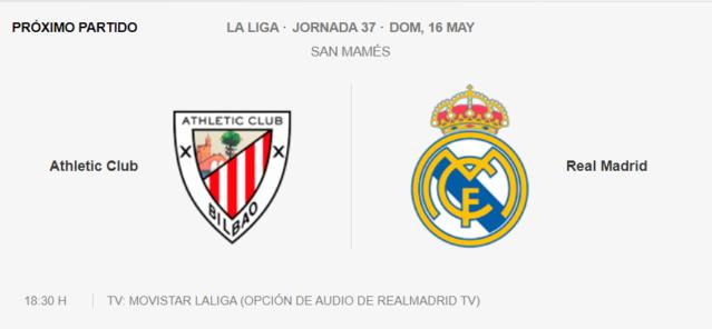 A. de Bilbao - Real Madrid Partid23